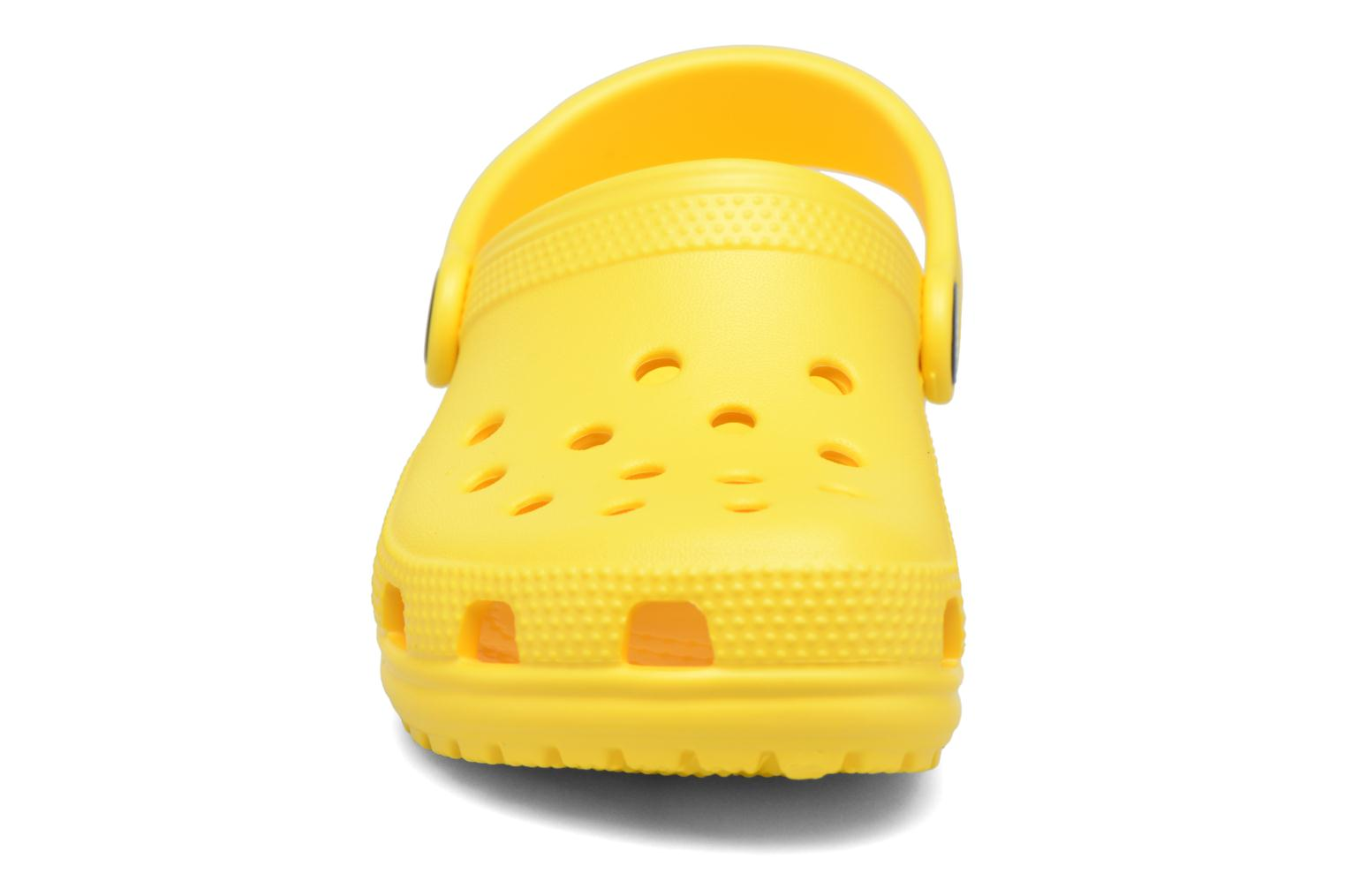 Sandals Crocs Kids Cayman Yellow model view