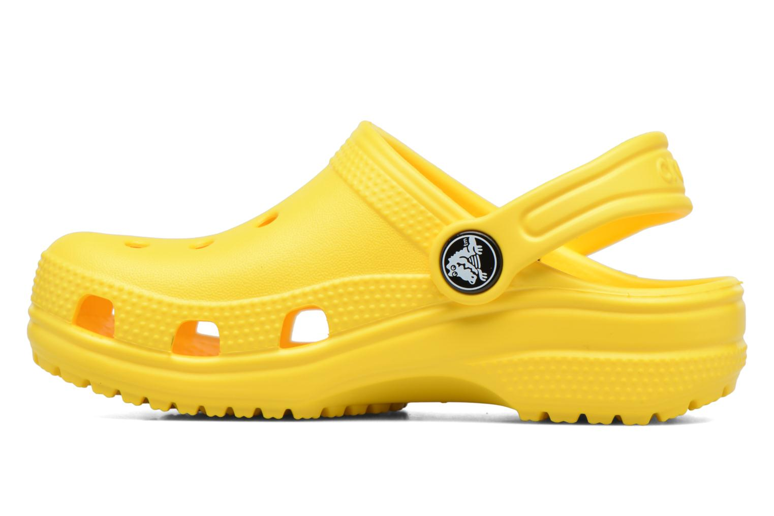 Sandals Crocs Kids Cayman Yellow front view