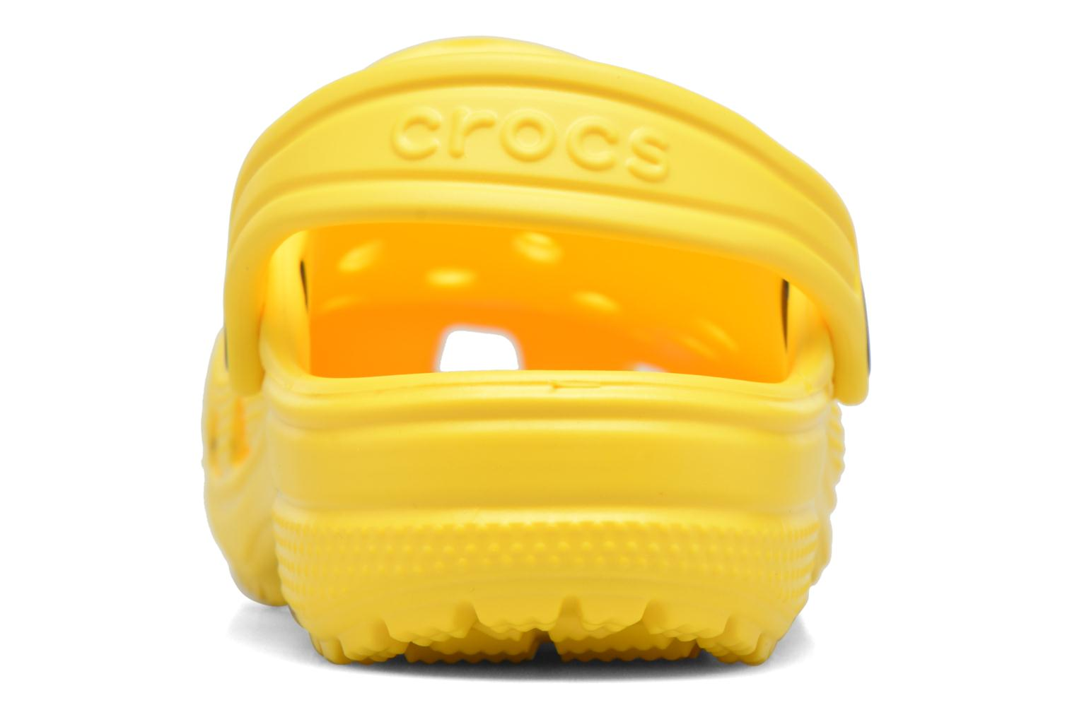 Sandals Crocs Kids Cayman Yellow view from the right