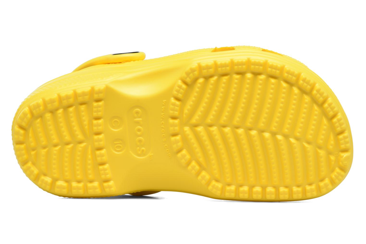 Sandals Crocs Kids Cayman Yellow view from above