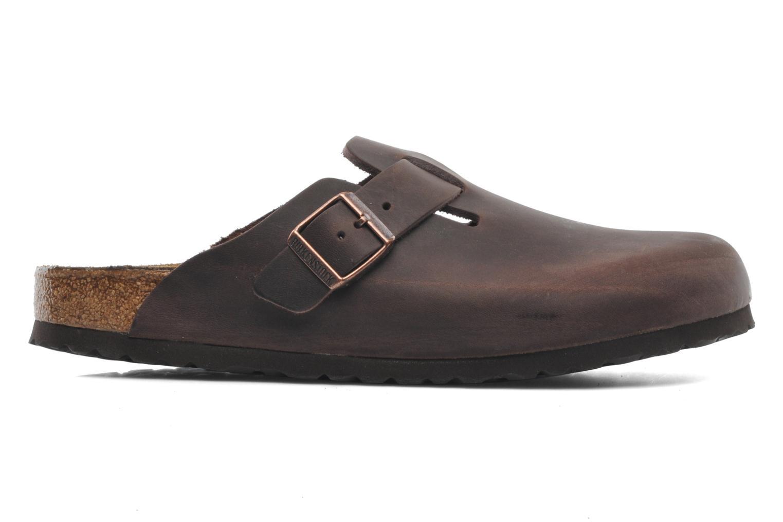 Sandales et nu-pieds Birkenstock Boston Cuir M Marron vue derrière