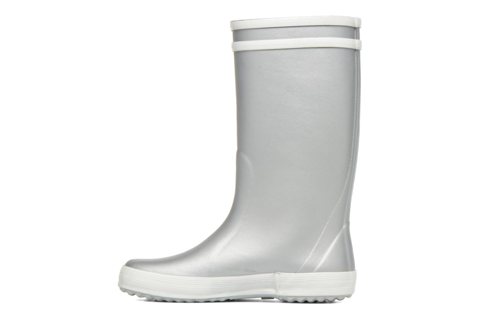 Boots & wellies Aigle Lolly Pop Grey front view