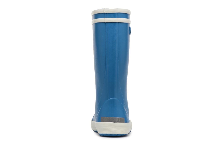 Stiefel Aigle Lolly Pop blau ansicht von rechts