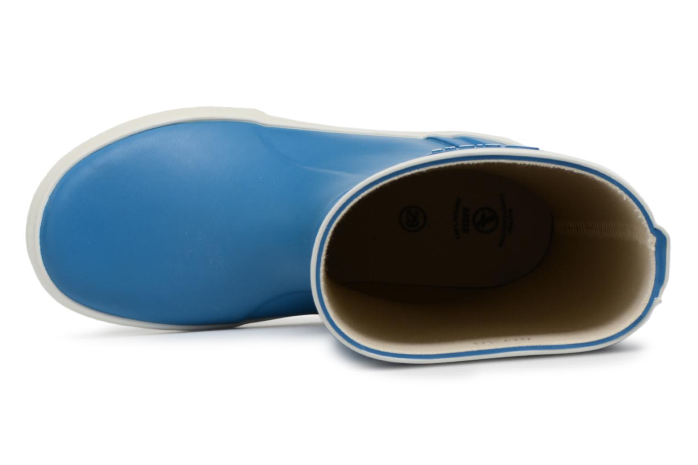 Stiefel Aigle Lolly Pop blau ansicht von links