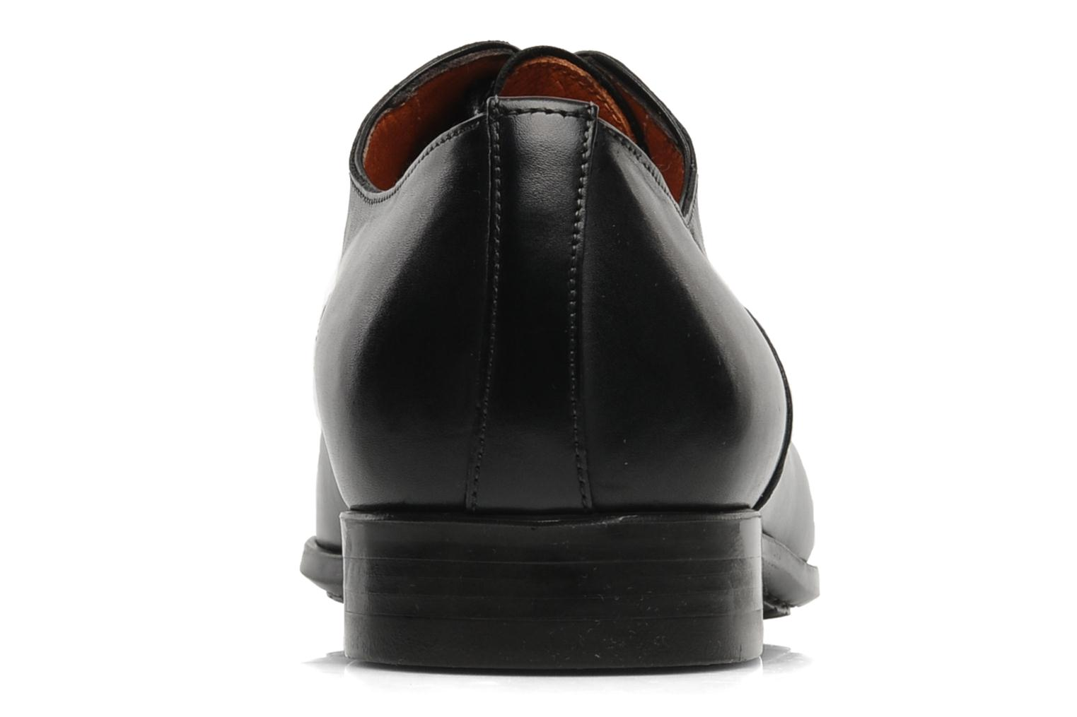 Lace-up shoes Santoni William 07413 Black view from the right