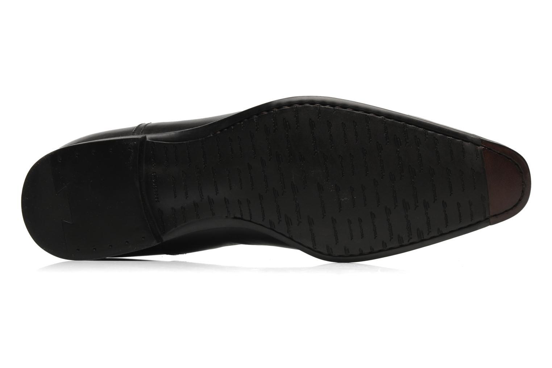 Zapatos con cordones Santoni William 07413 Negro vista de arriba