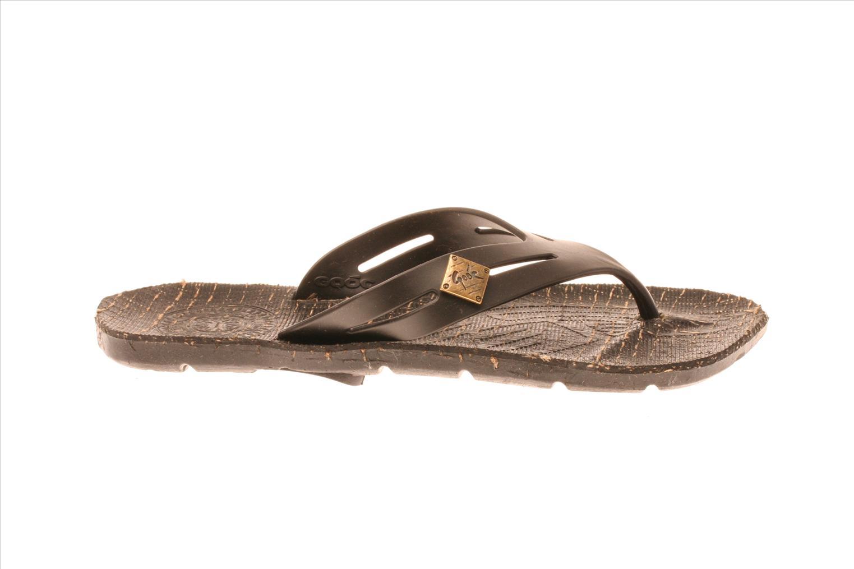 Sandales et nu-pieds Gooc KG Noir vue derrière