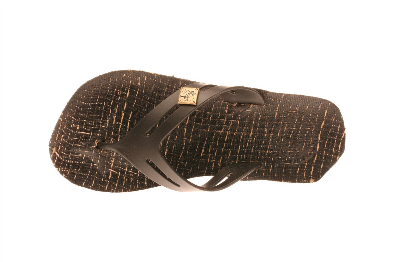 Sandales et nu-pieds Gooc KG Noir vue gauche