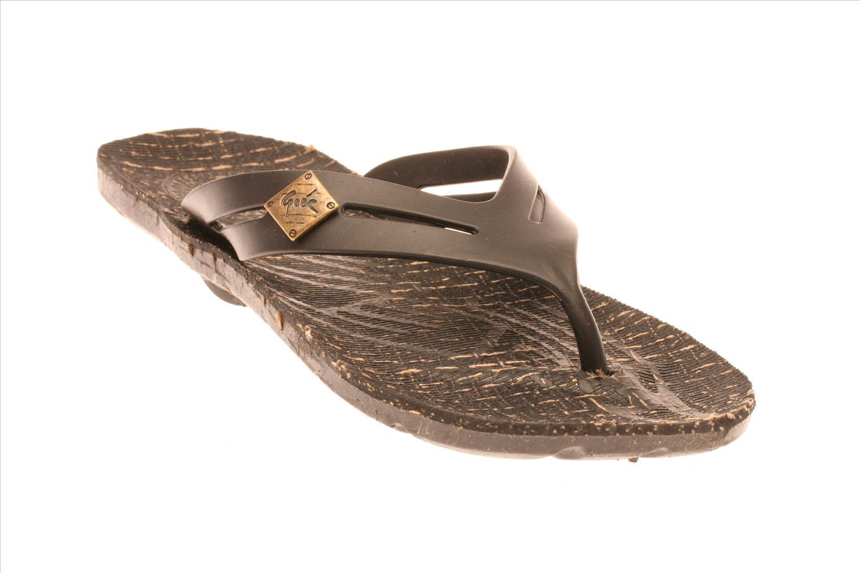Sandales et nu-pieds Gooc KG Noir vue détail/paire
