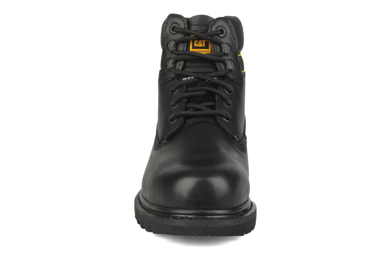 Stiefeletten & Boots Caterpillar Holton SB schwarz schuhe getragen