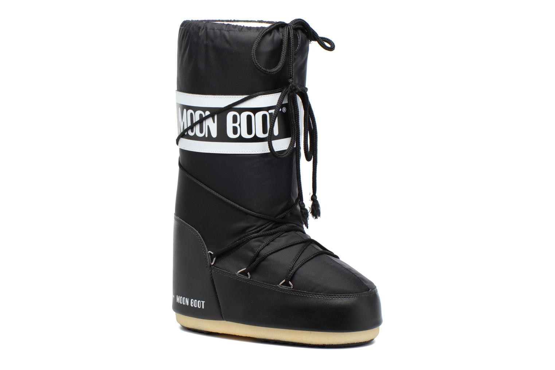 Sportschuhe Moon Boot Moon Boot Nylon schwarz detaillierte ansicht/modell