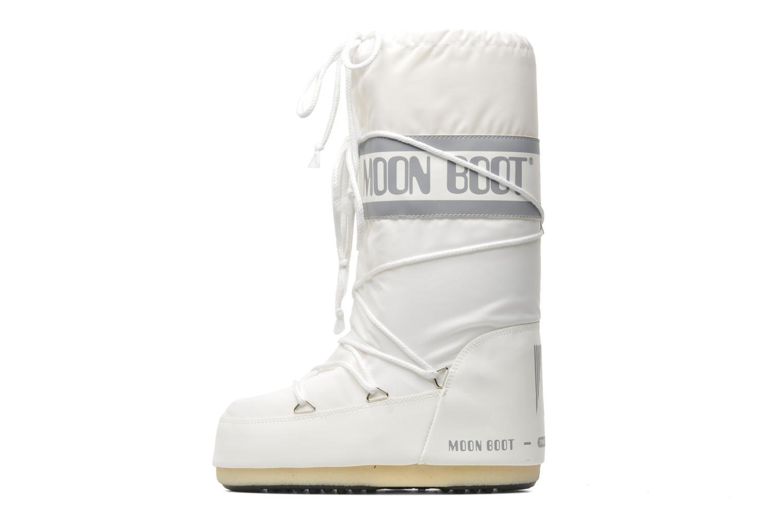 Sportssko Moon Boot Moon Boot Nylon Hvid se forfra