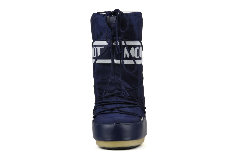 Sportskor Moon Boot Moon Boot Nylon Blå bild av skorna på