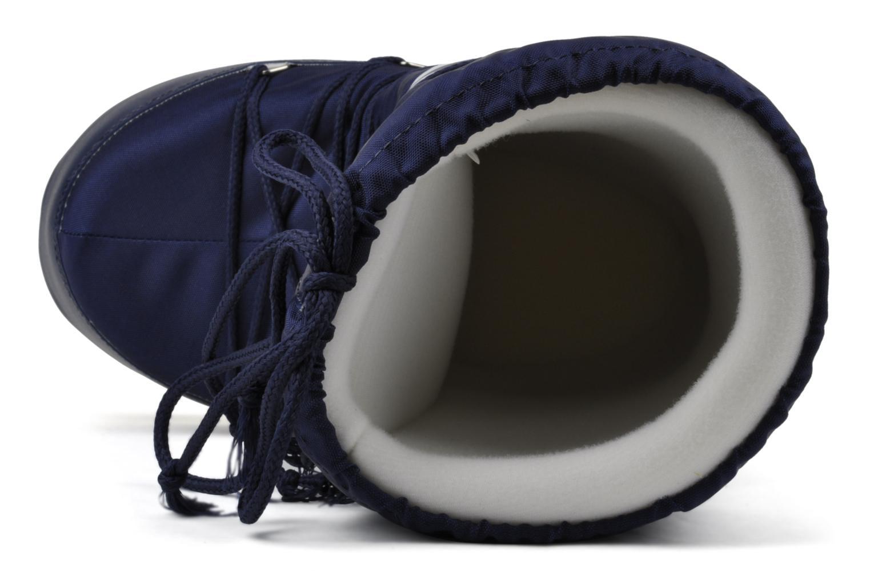 Sportskor Moon Boot Moon Boot Nylon Blå bild från vänster sidan