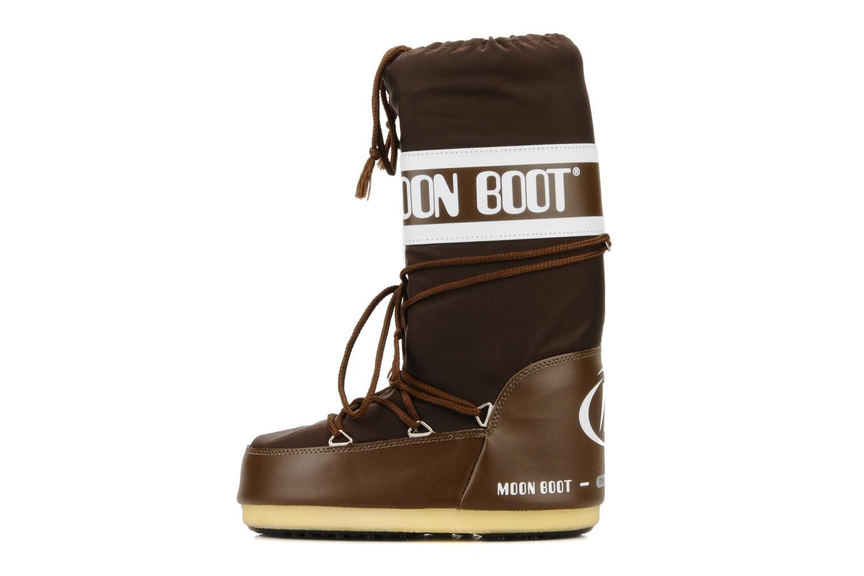 Chaussures de sport Moon Boot Moon Boot Nylon W Marron vue face