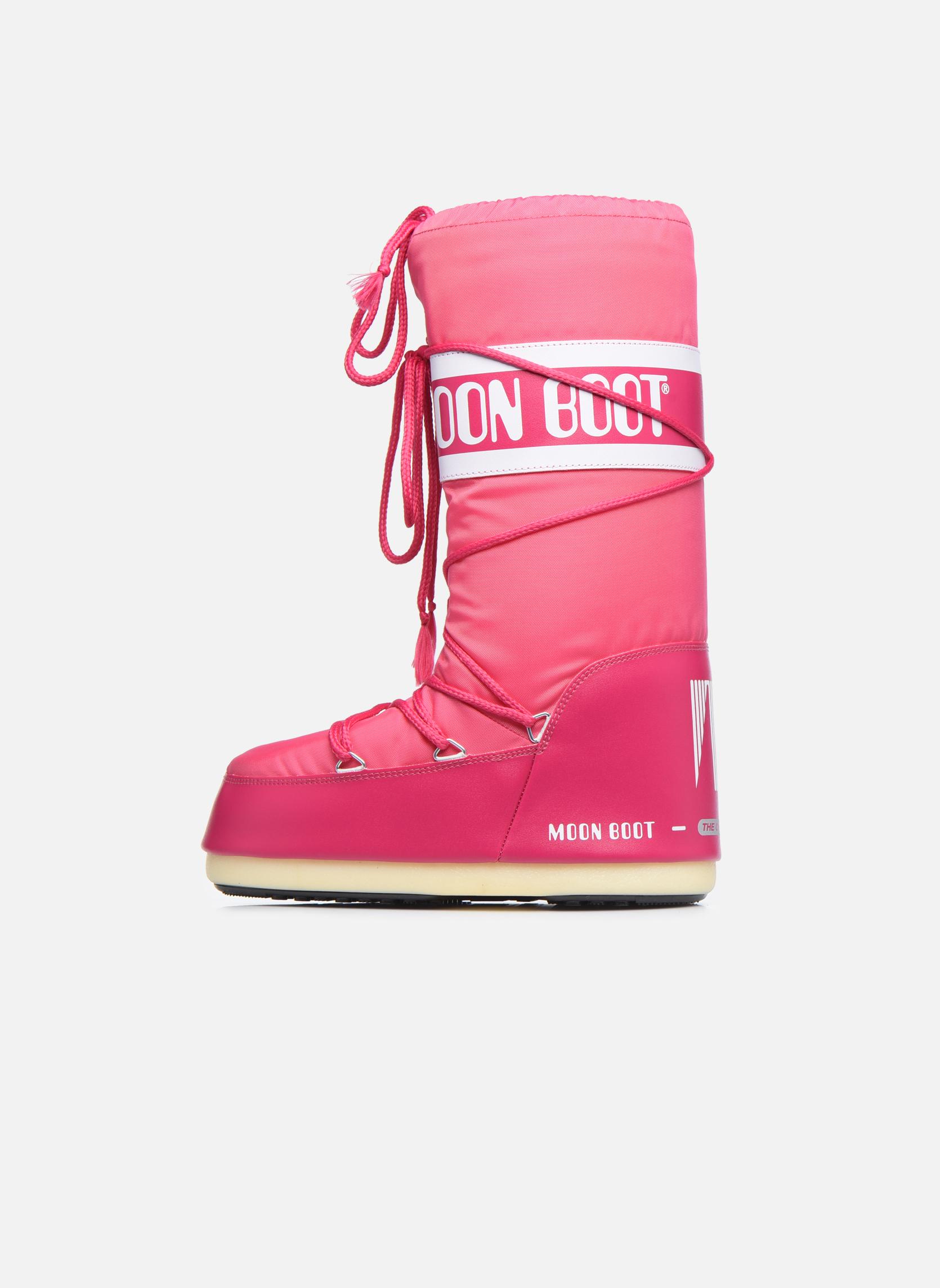 Sportschoenen Moon Boot Moon Boot Nylon Roze voorkant