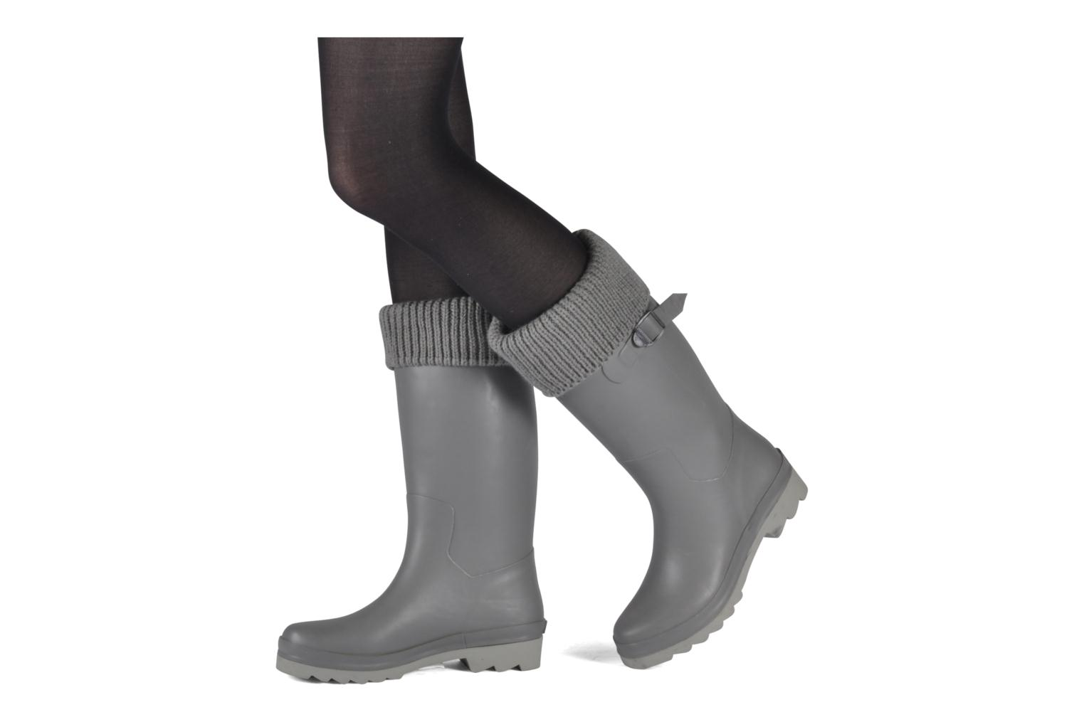 Boots & wellies Tatoosh Socks Grey view from underneath / model view