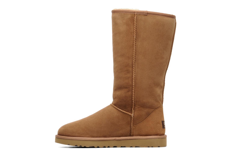 Stiefeletten & Boots UGG Classic Tall beige ansicht von vorne