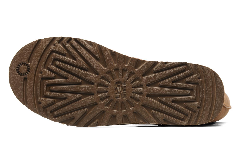 Stiefeletten & Boots UGG Classic Tall beige ansicht von oben