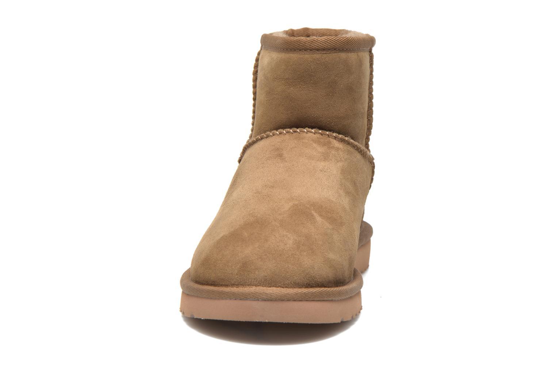 Stiefeletten & Boots UGG Classic Mini beige schuhe getragen