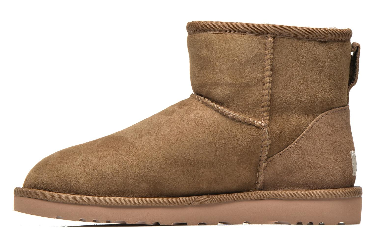 Ankle boots UGG Classic Mini Beige front view