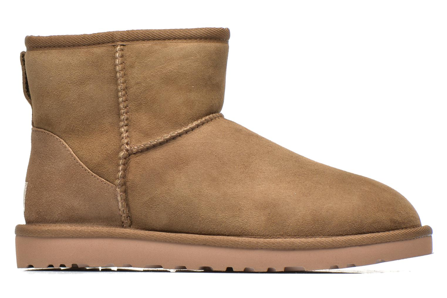Ankle boots UGG Classic Mini Beige back view