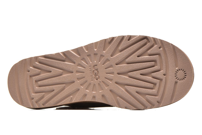 Stiefeletten & Boots UGG Classic Mini beige ansicht von oben