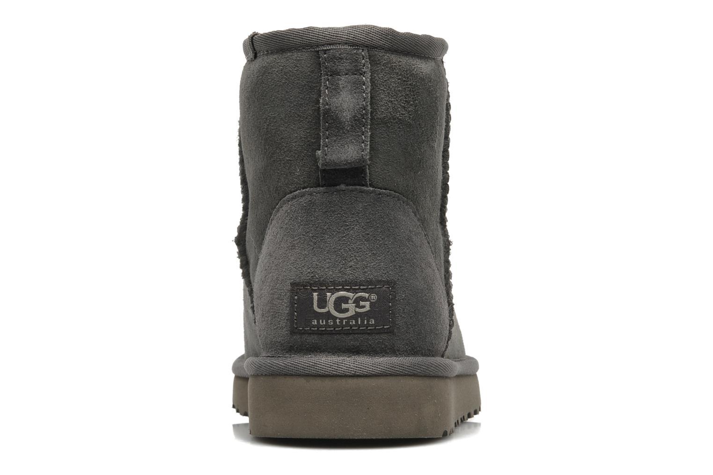 Bottines et boots UGG Classic Mini Gris vue droite