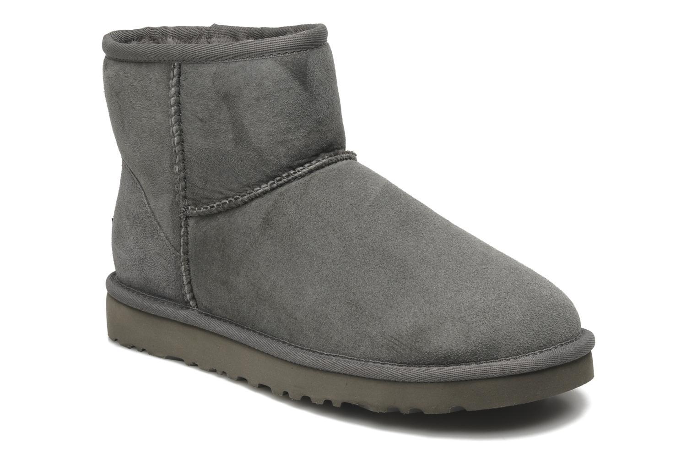 Bottines et boots UGG Classic Mini Gris vue détail/paire
