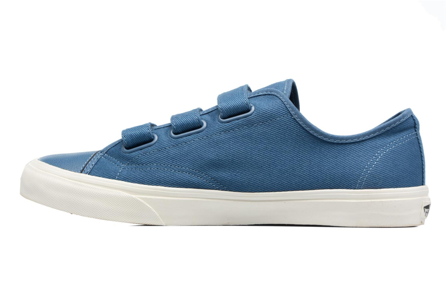 Baskets Vans Prison Issue Bleu vue face