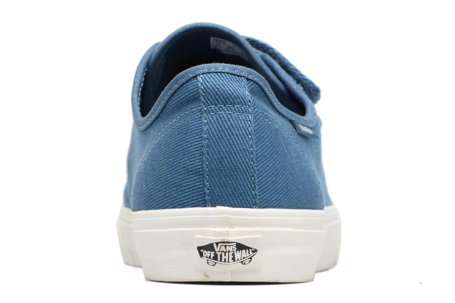 Trainers Vans Prison Issue Blue view from the right