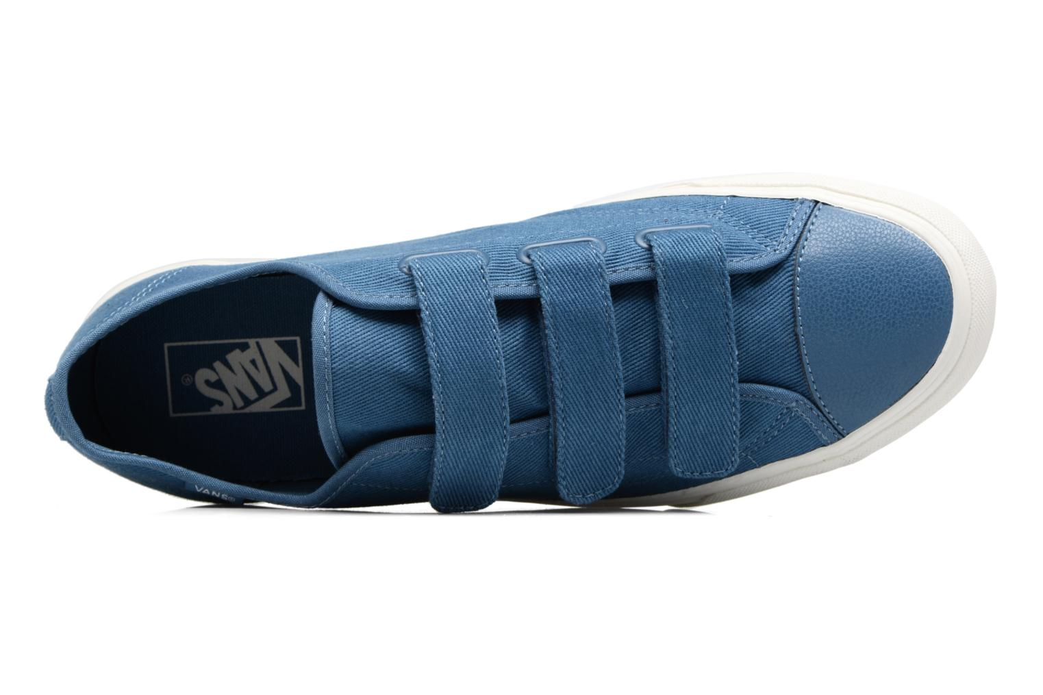 Trainers Vans Prison Issue Blue view from the left