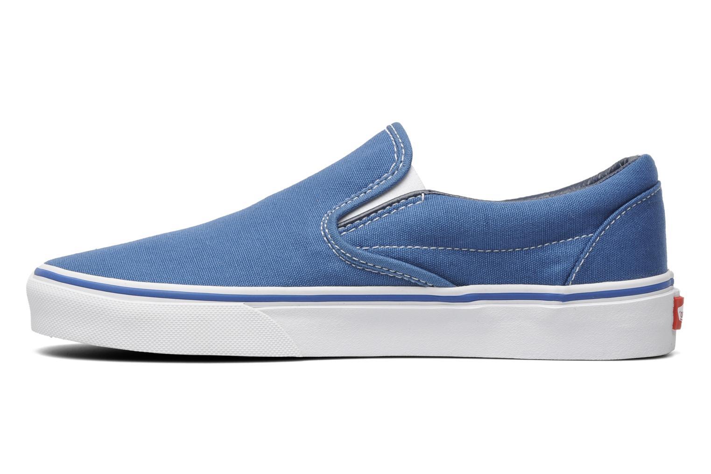 Sneaker Vans Classic Slip On W blau ansicht von vorne