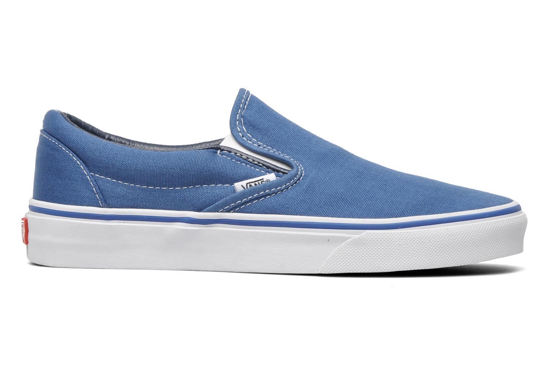 Baskets Vans Classic Slip On W Bleu vue derrière