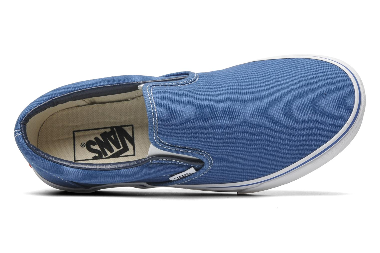 Baskets Vans Classic Slip On W Bleu vue gauche