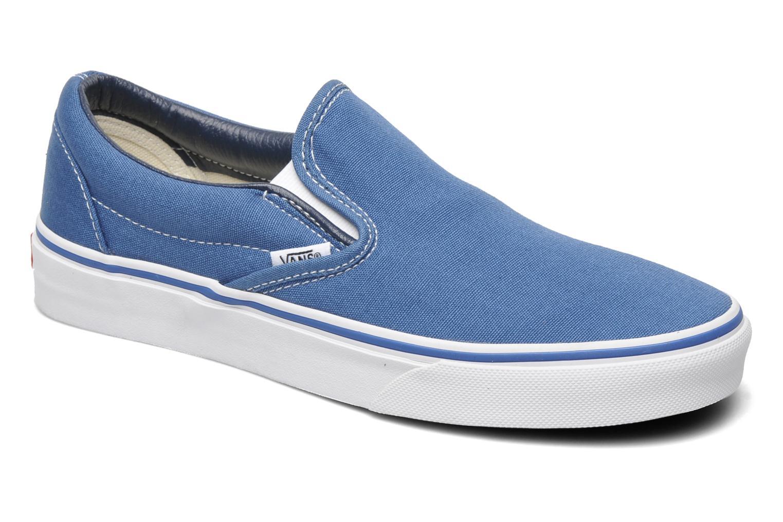 Sneakers Vans Classic Slip On W Blå detaljeret billede af skoene