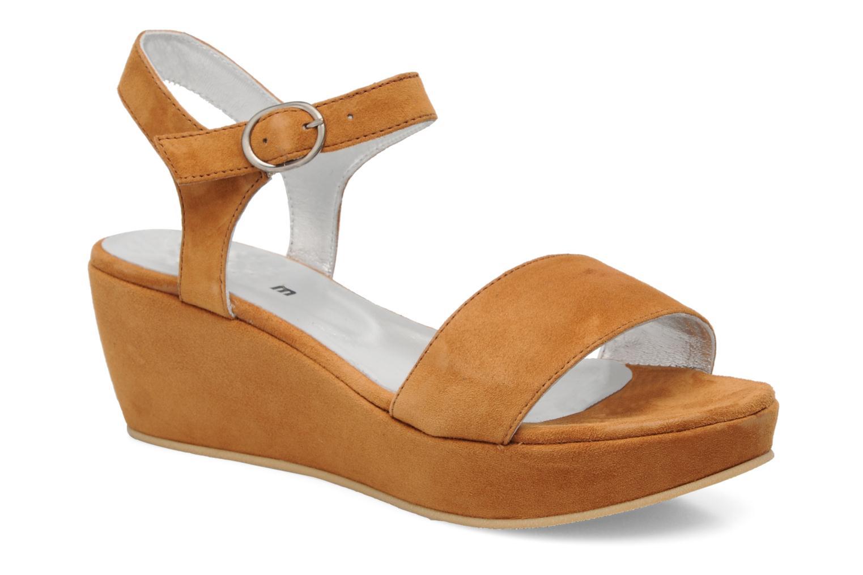 Sandales et nu-pieds Aster Torus Marron vue détail/paire