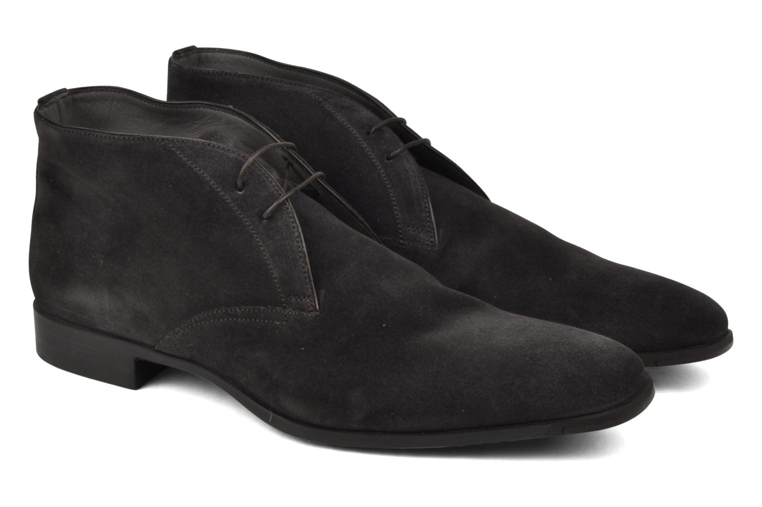 Ankle boots Santoni William 7416 Grey 3/4 view