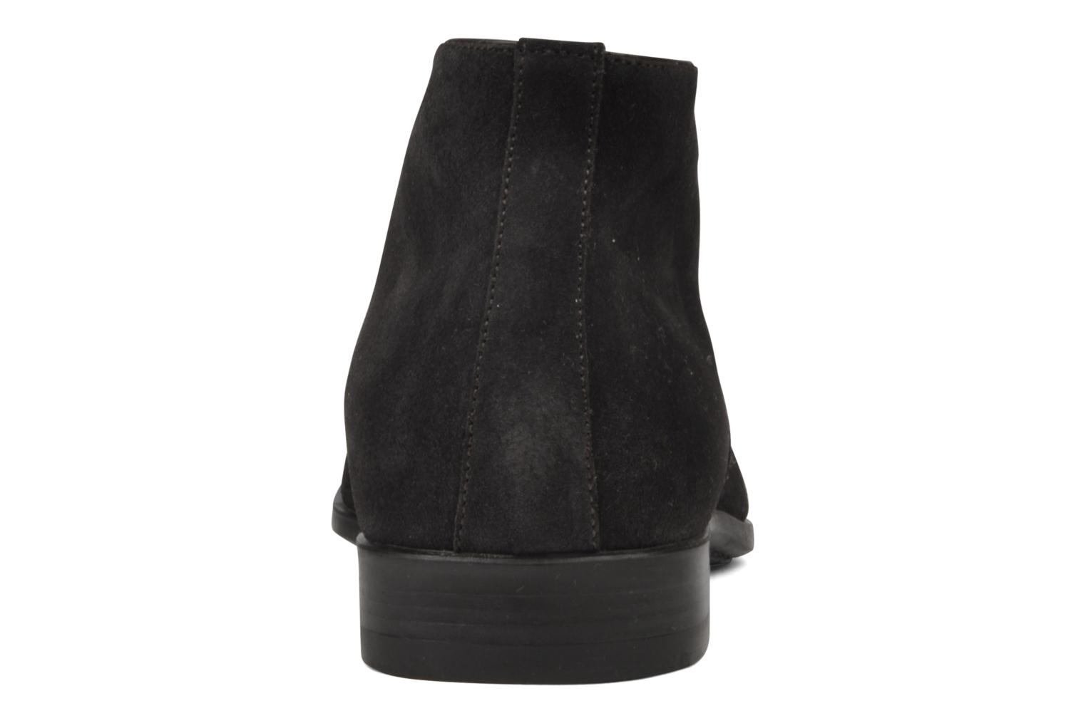 Ankle boots Santoni William 7416 Grey view from the right