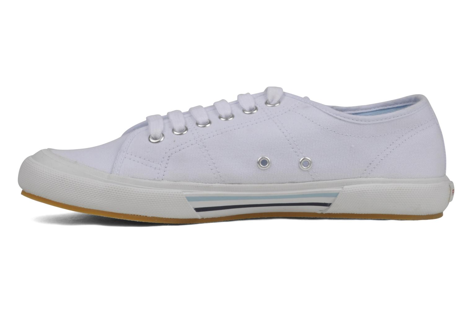 Baskets Fred Perry B708 Blanc vue face