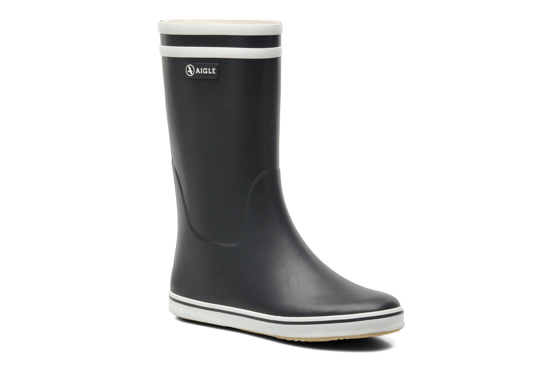 Bottines et boots Aigle Malouine Bleu vue détail/paire