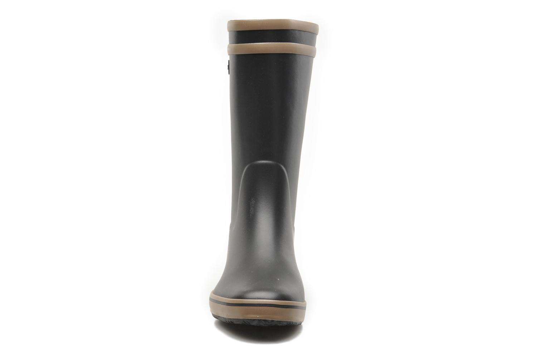 Bottines et boots Aigle Malouine Noir vue portées chaussures