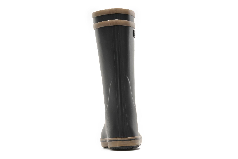 Bottines et boots Aigle Malouine Noir vue droite