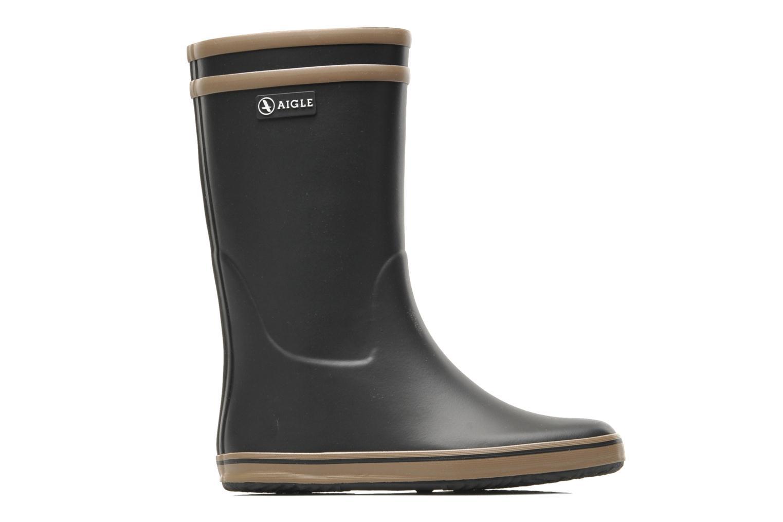Bottines et boots Aigle Malouine Noir vue derrière