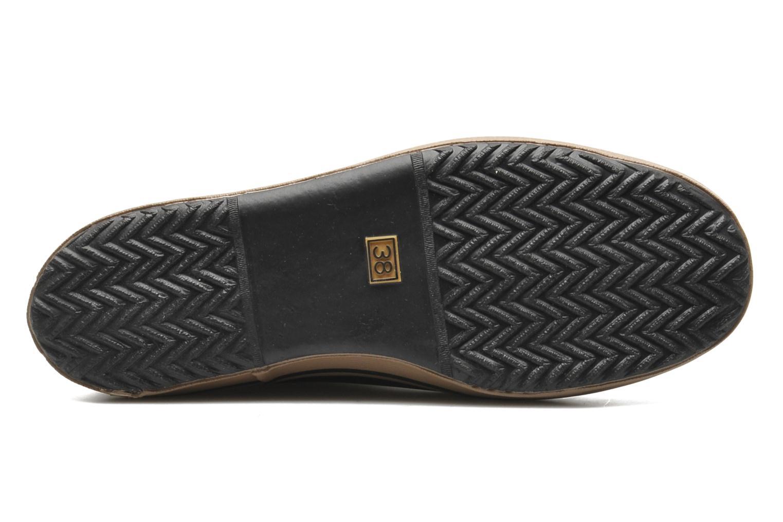 Bottines et boots Aigle Malouine Noir vue haut
