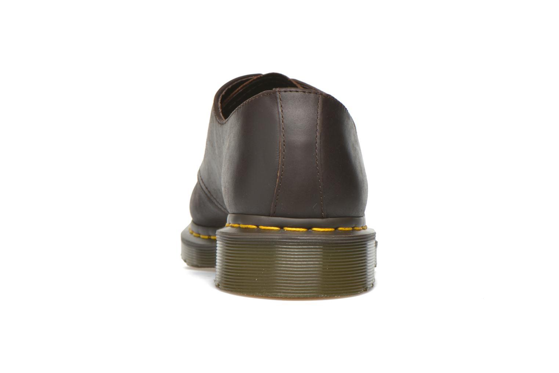 Chaussures à lacets Dr. Martens 1461 Marron vue droite