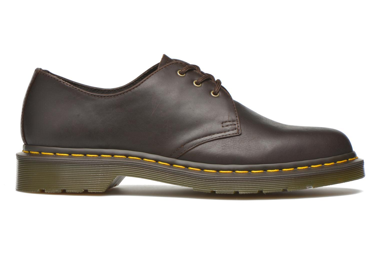Chaussures à lacets Dr. Martens 1461 Marron vue derrière
