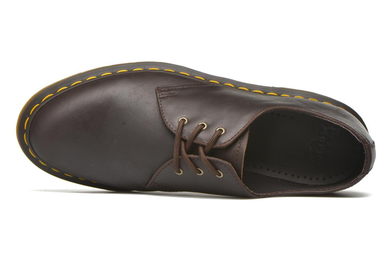 Chaussures à lacets Dr. Martens 1461 Marron vue gauche