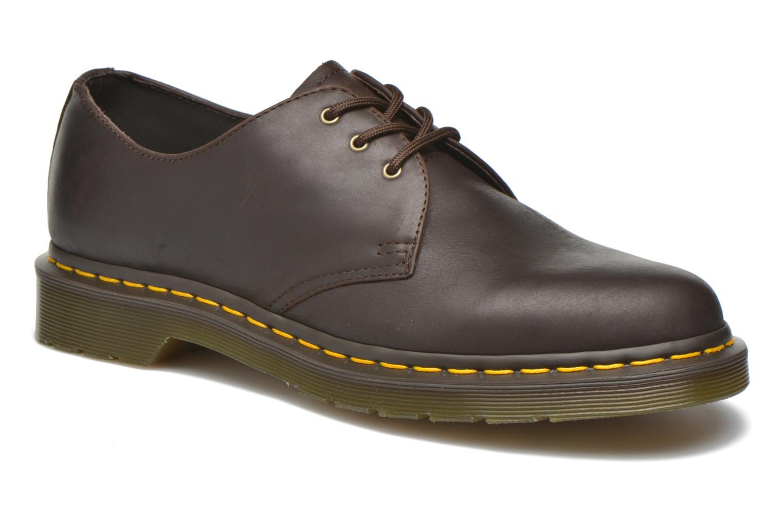 Chaussures à lacets Dr. Martens 1461 Marron vue détail/paire
