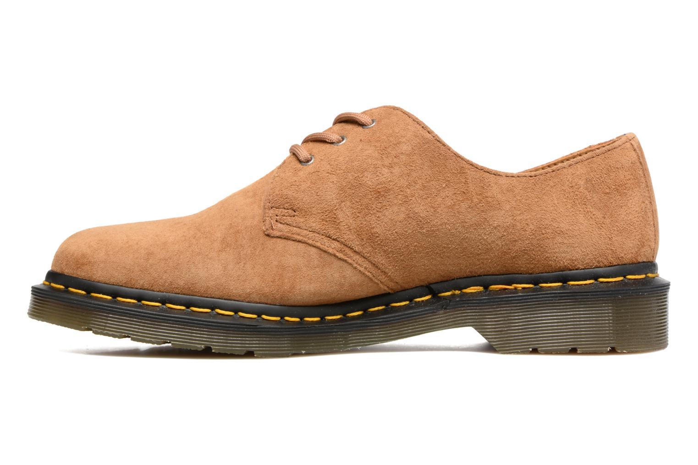 Chaussures à lacets Dr. Martens 1461 Marron vue face